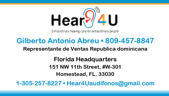 Hearing aid distribution - Dominican Republic