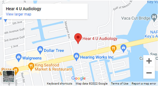Hearing Aid Center in Marathon, FL - Hear4U Audiology
