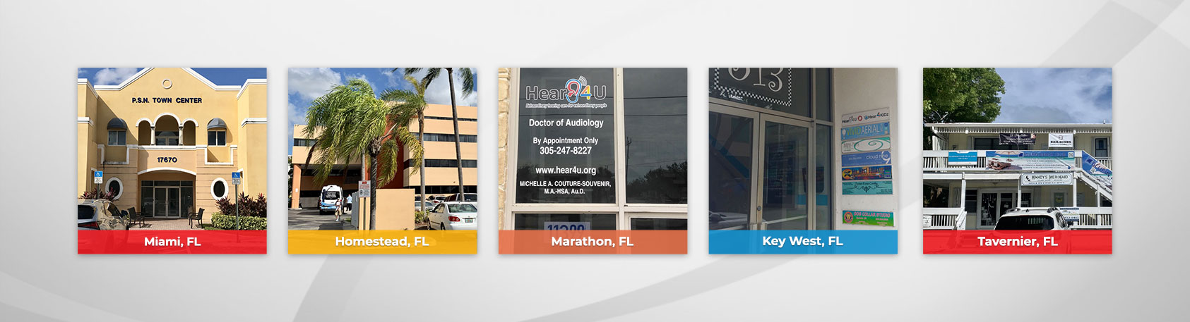 Locations Banner - Hear 4 U Audiology