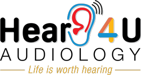 Hear 4 U Audiology Logo